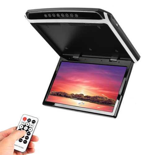 15.6 Inch HDMI 1080p Car Roof Mount Car Ceiling Flip Down TV Digital Screen Monitor