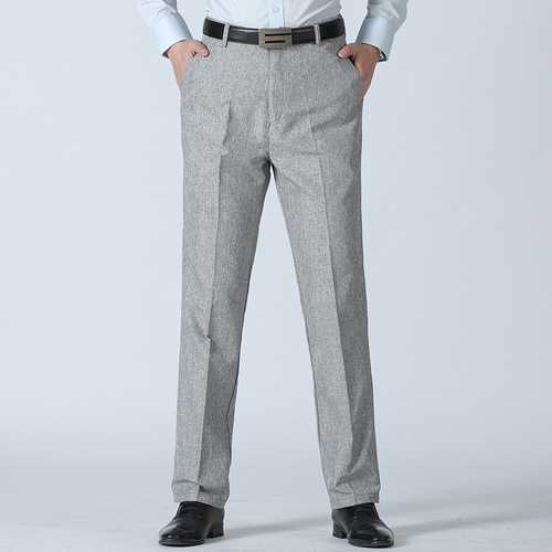 Men's Summer Breathable Linen Casual Pants