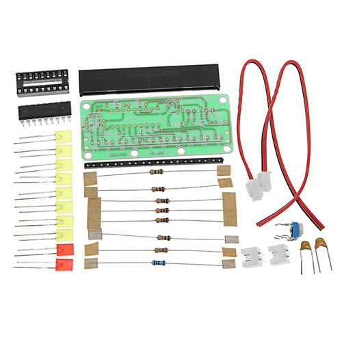 10pcs LM3915 Level Indicator Kit DC9V-12V DIY Electronic Production Module Kit