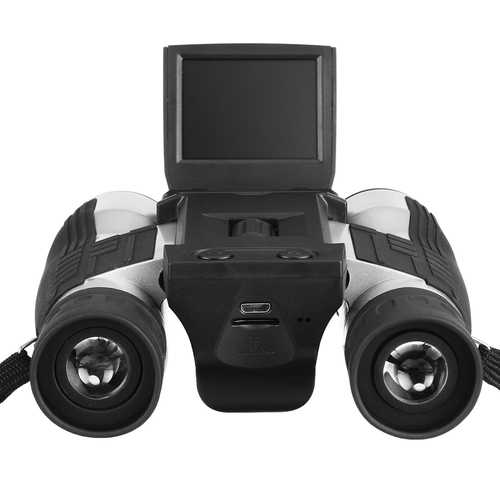1080P HD Digital Camera 12X Zoom Telescope Binoculars Video Playback 2 inch LCD Binocular