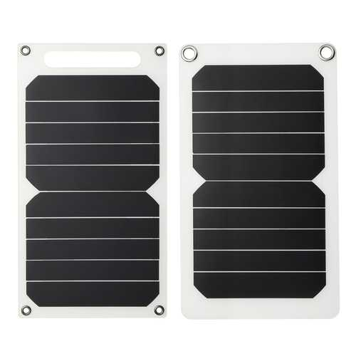 6V 10W 1.7A Portable Solar Panel USB Solar Charging Board Charger