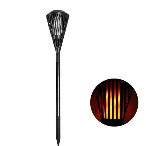 ARILUX® Solar 90 LED Flickering Flame Light Waterproof Outdoor Landscape Decor for Garden Lawn Path