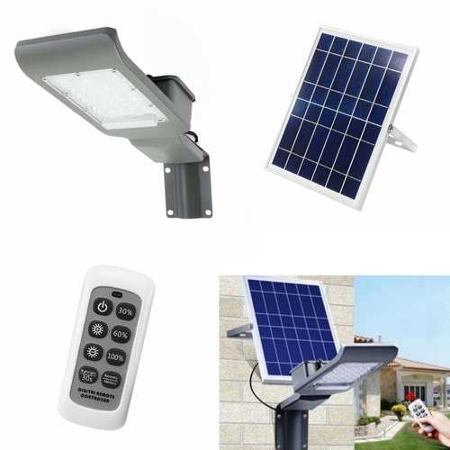 30W Waterproof 30 LED Solar Light with Wall Suction Light/Remote Control Street Light for Outdoor