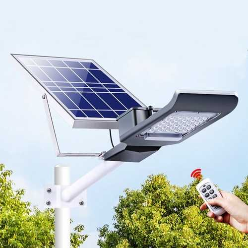 30W Waterproof 30 LED Solar Light with Long Rod Light/Remote Control Street Light for Outdoor