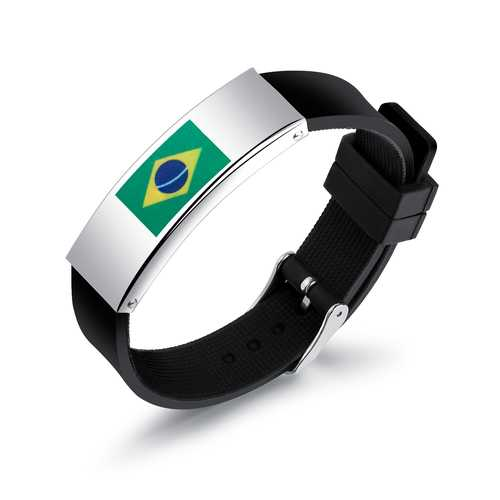 Football Fans Bracelet National Flag Personality S