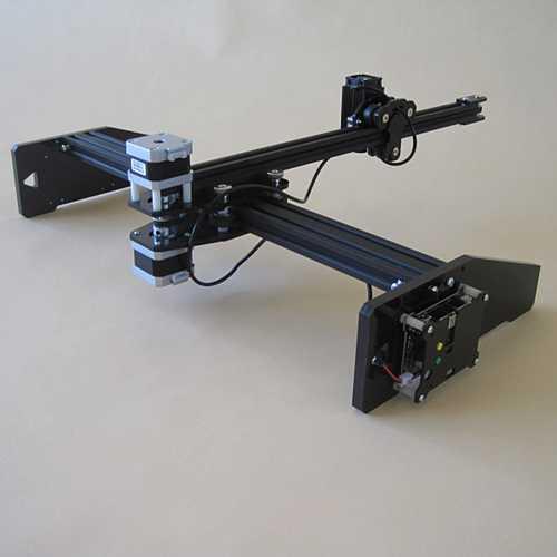 2500mw XY 2 Axis Draft CNC Drawing Laser Engraving Machine Pen Plotter Robot Auto Write 21*29cm