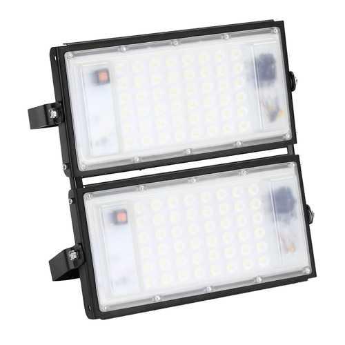 100W 9000lm Waterproof IP65 96 LED Flood Light White Light Spotlight Outdoor Lamp AC175-265V