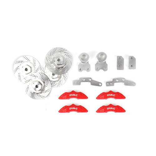 D1RC Rock Crawler Brake Disc Callipers For 1/10 SXC10 90046 TRX-4 RC Car Parts