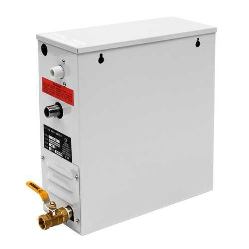 220V 4.5KW Steam Generator Sauna Bath Home Spa Shower Steamer ST-135M Controller