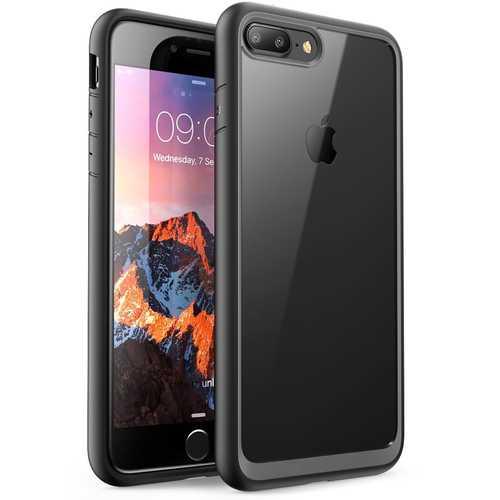 Bakeey Clear Transparent Hybrid Color Protective Case For iPhone 7 Plus/8 Plus Anti Fingerprint Anti Knock