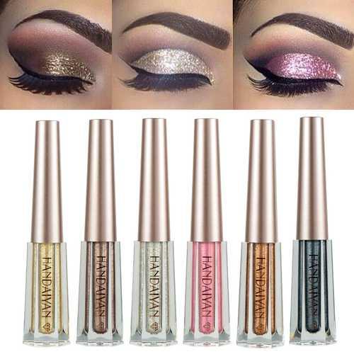 12 Colors Diamond Glitter Liquid Eye Shadow
