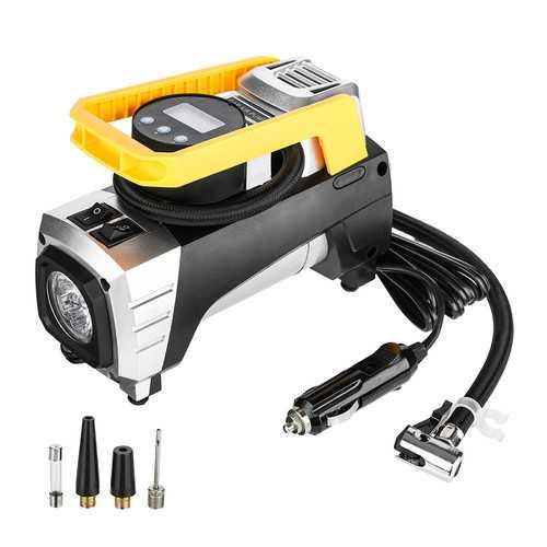 12V Heavy Duty Digital LED Volume Air Compressor Car Motorcycle Tyre Inflator Pump 73PSI
