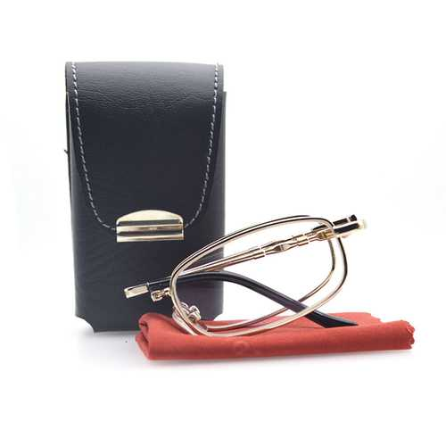 Collapsible Reader Reading Glasses Presbyopic Glasses
