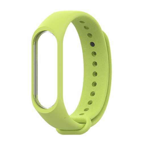 Mijobs Mi Band 3 Colorful Wrist Band Silicone Strap Replacement Wristband For Xiaomi Mi Band 3