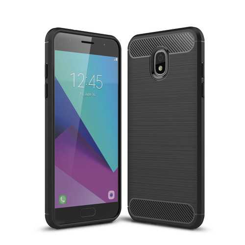 Bakeey Carbon Fiber Heat Dissipation TPU Protective Case for Samsung Galaxy J3 2018 US Version
