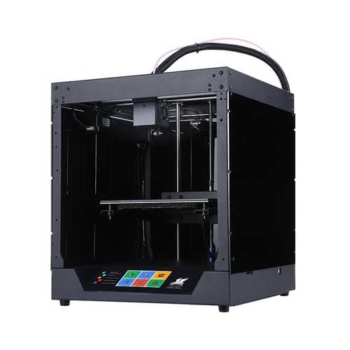 Flyingbear® Ghost 4S FDM Metal 3D Printer 230*230*210mm Printing Size with 4.3 inch Color Touch Screen Support WIFI Connect/Filament Runout Sensor/Power Resume Function/Fast Assembly
