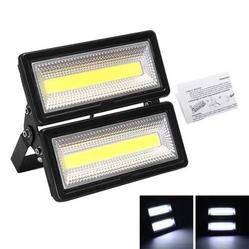 100W COB LED Flood Light Waterproof Outdoor Security Light for Garage Garden Yard AC220V