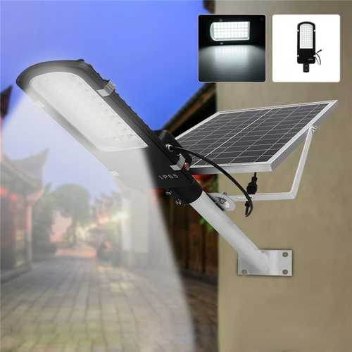 15W Solar Power LED Light Sensor Street Road Lamp Waterproof for Outdoor Garden Pathway