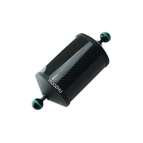 HOOZHU FS25 Φ24.5 Aluminum Carbon Fiber Floating Arm Bracket Support for Diving Light Flashlight Arm Diving Camera Dive