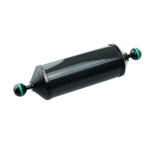 HOOZHU FS21 Φ24.5 Aluminum Carbon Fiber Floating Arm Bracket Support for Diving Light Flashlight Arm Diving Camera Dive