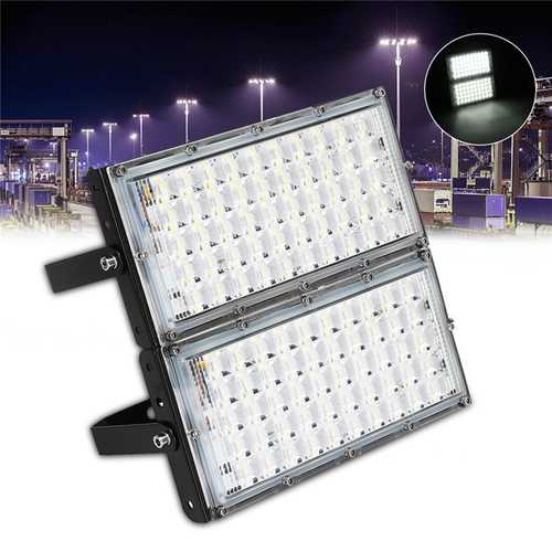100W 100 LED Flood Light IP65 Waterproof Outdoor Super Bright Security Light AC185-265V