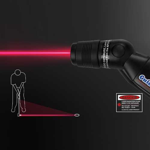 Golf Putter Plane Laser Sight Indoor Golf Practice Teaching Training Aid Laser Aiming Quick Installa