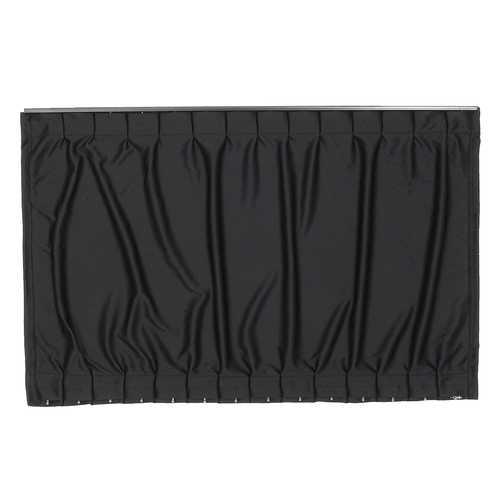 2pcs 70x49cm Adjustable Car Window Curtain Sunshade UV Protection Black Universal