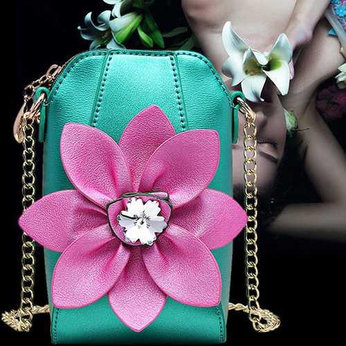 Brenice Women Sling Bag Floral Fashion Phone Crossbody Bag