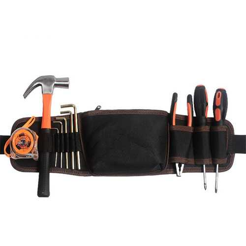 Hilda Storage Tool Bag Waterproof Multi Pocket Tool Belt Multifunction Tool Bag