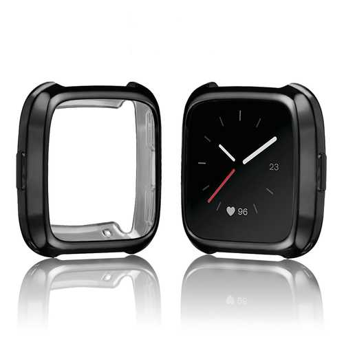 Bakeey Watch Cover Frame TPU Protective Case for Fitbit Versa Fitness Watch