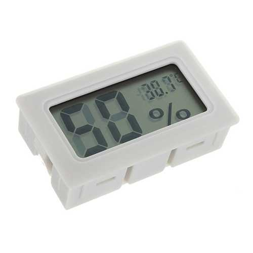 10pcs Mini LCD Digital Thermometer Humidity Meter Gauge Hygrometer Indoor