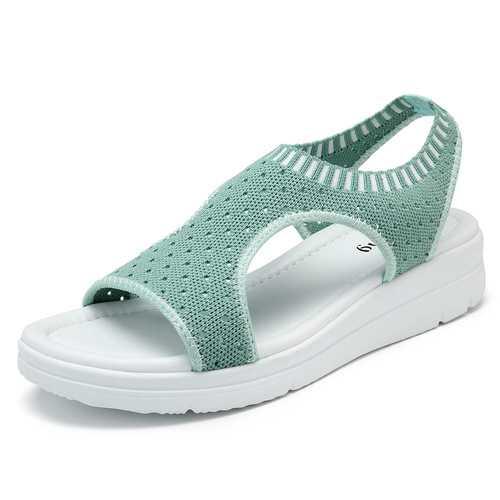 Roman Women Mesh Ankle Beach Sandals
