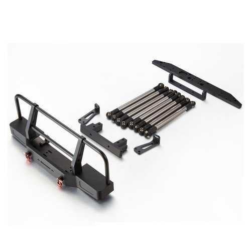 TFL CNC Aluminum SCX10 280mm Wheelbase Link W/ Mount Body Conversion Kit For D90 Rc Car Parts