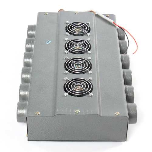 DC 12V 24V 12 Holes 4 Fan Universal Heater Defroster Double Side Compact For Car Truck