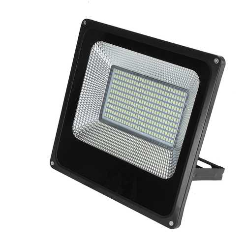 100W Waterproof 300 LED Flood Light White Light Spotlight Outdoor Lamp for Garden Yard AC180-220V