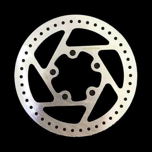 RAMBOMIL 110MM Bike Bicycle Mechanical Cycling Brake Disc for Xiaomi Mijia Electric Skateboard Scooter