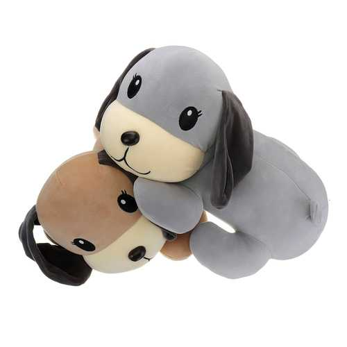 "45cm 18"" Stuffed Plush Toy Lovely Puppy Dog Kid Friend Sleeping Toy Gift"