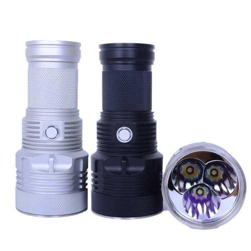 Haikelite MT09R 3x XHP35 Hi 6500LM MODE SET Super Long Range Momentary Searching LED Flashlight