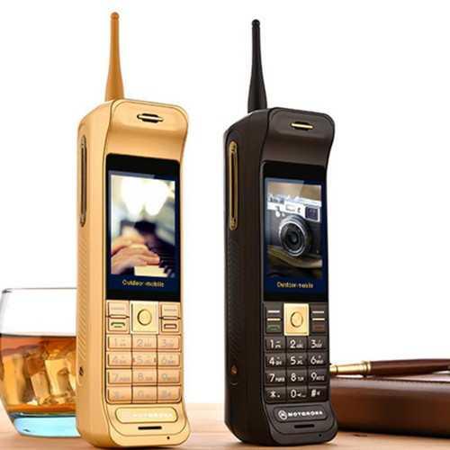 C10 2.8'' 16800mAh Power Bank Antenna Touch Screen Flashlight Dual SIM  Retro Military Feature Phone