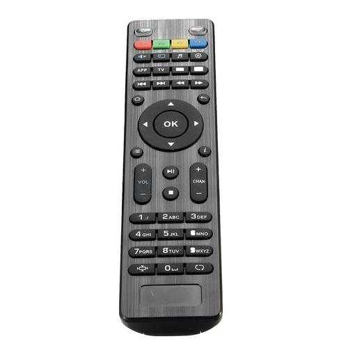 Claite Replacement Remote Key Control for Mag250 254 255 260 261 270 IPTV TV Box