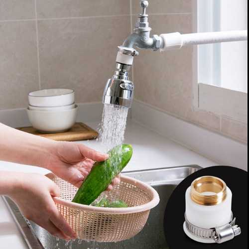 Faucet Splash Head Adapter Water Saver Interface Tap Shower Universal Accessories Connecting Pipe
