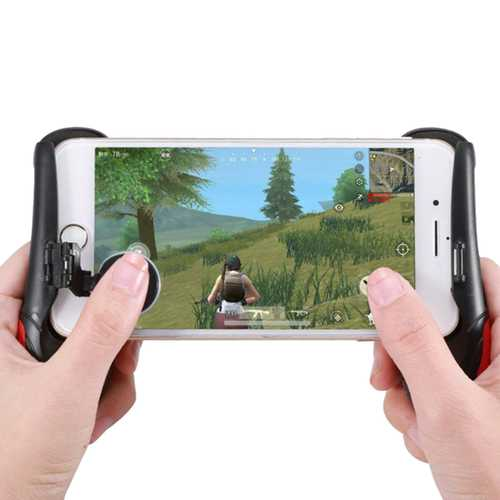 Bakeey 3 in 1 Bracket Game Controller Joystick Gamepad With Deskholder For 4.7-6.5 Smartphone