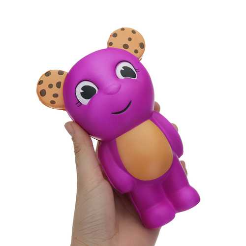 Bear Squishy 16.1*10.3CM Slow Rising Cartoon Gift Collection Soft Toy