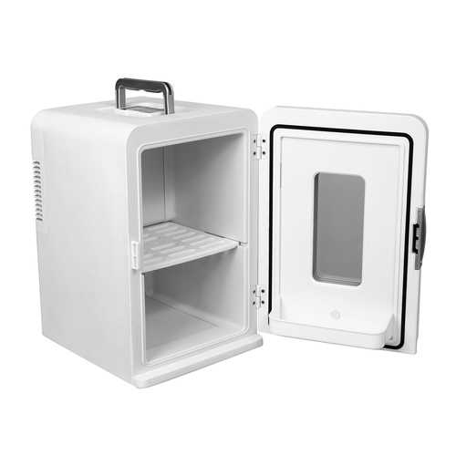 15L Travel Car Refrigerator 12V Portable Cooler Warmer Electric Mini Camp Can Holder