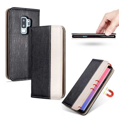 Bakeey Premium Magnetic Flip Card Slot Kickstand Protective Case For Samsung Galaxy S9 Plus