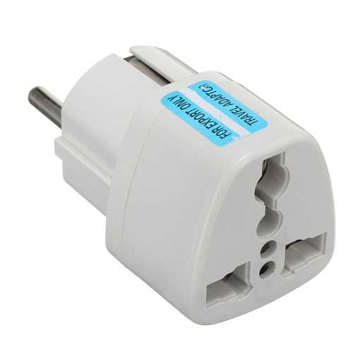 Universal AU US UK to EU Europe Plug AC 250V Power Travel Adapter Plug