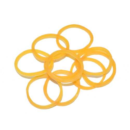 10 Pcs 20mm Yellow Battery Retention Rubber Band For RC FPV Racing Drone