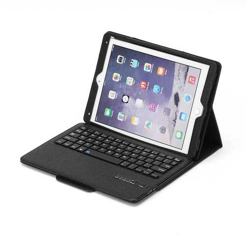 Detachable Bluetooth Keyboard Kickstand Tablet Case For iPad Pro 10.5""