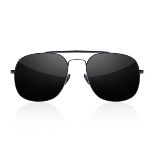 TS Sunglasses Pilotstyle Polarized Sunglasses Titanium Nylon Lens Double From Xiaomi Youpin