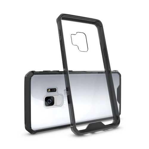 Armor Air Cushion Corners Acrylic Soft TPU Protective Case for Samsung Galaxy S9